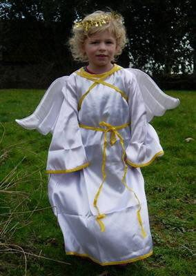 Angel Fancy Dress – Nativity Costume Age 4