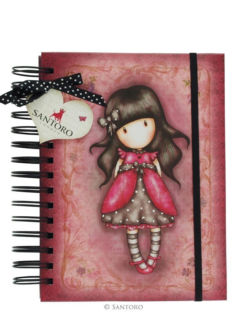 Gorjuss Organisatinal Notebook – LadyBird