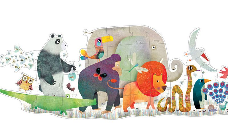 Animal parade – Giant Puzzle