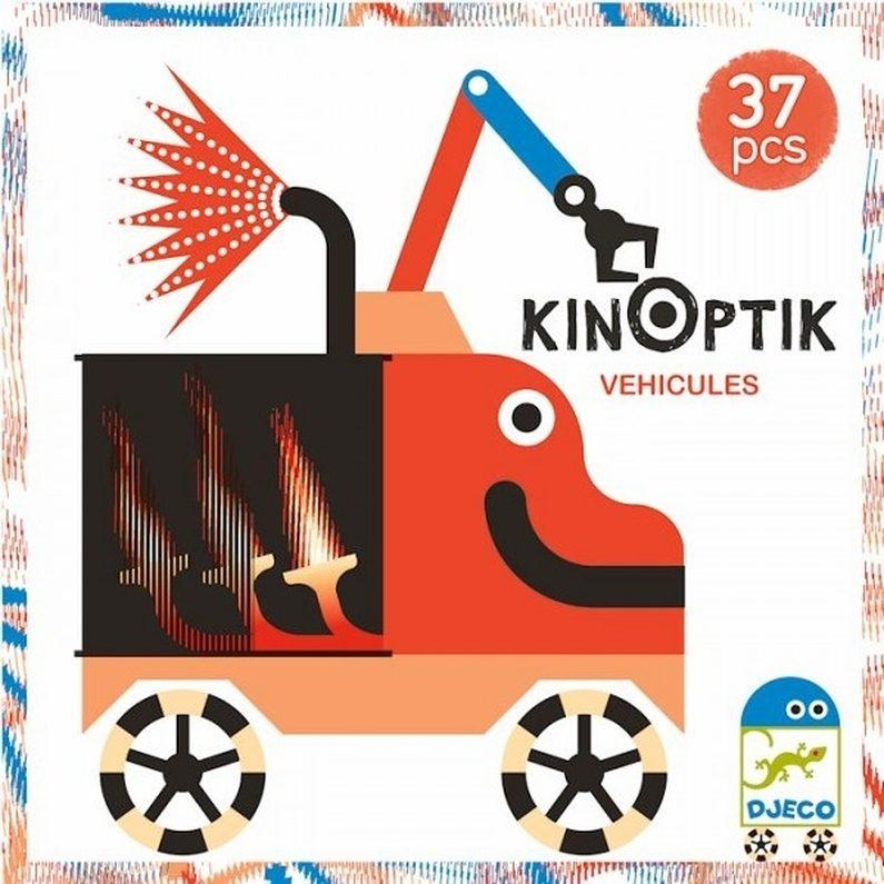 Kinoptic Vehicles 37 pcs