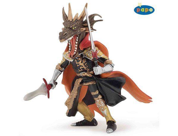 Papo Fire Dragon Man