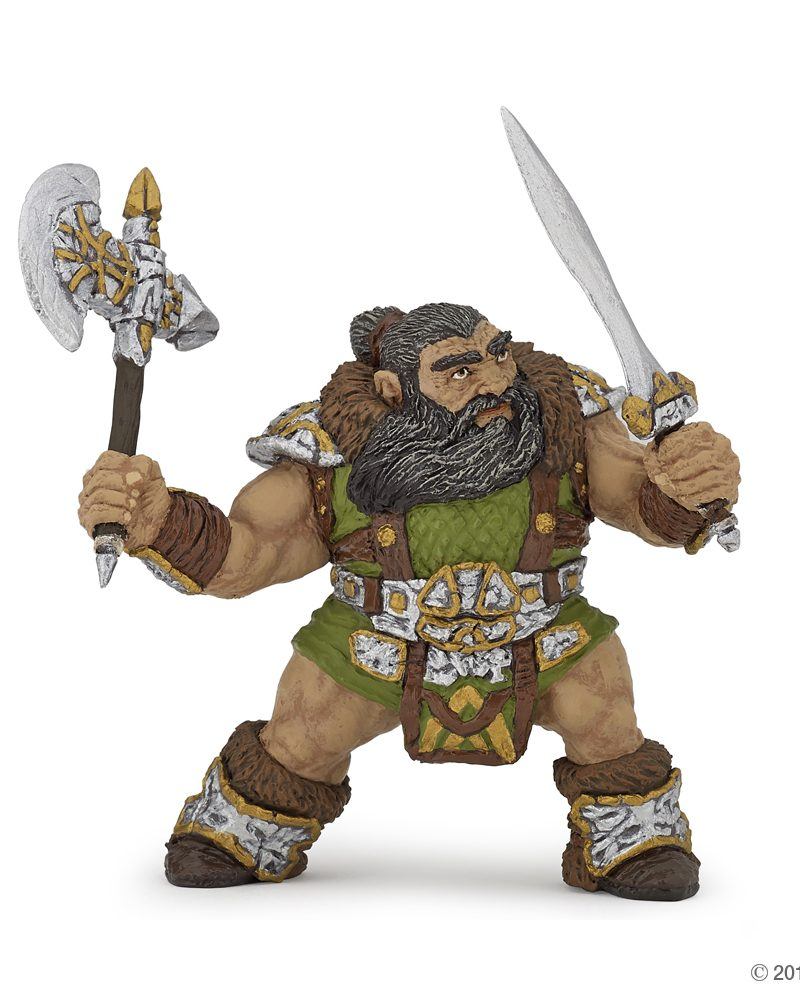 Papo Dwarf Warrior With Axe