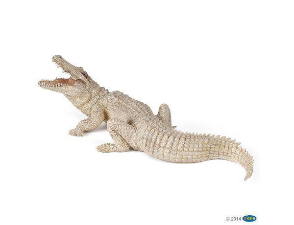 Papo White Crocodile