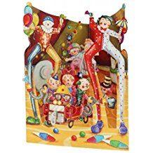 Swing Card Big Top Clowns