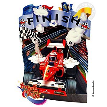 Swing Card Racing Car