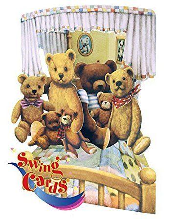 Swing Card Teddies