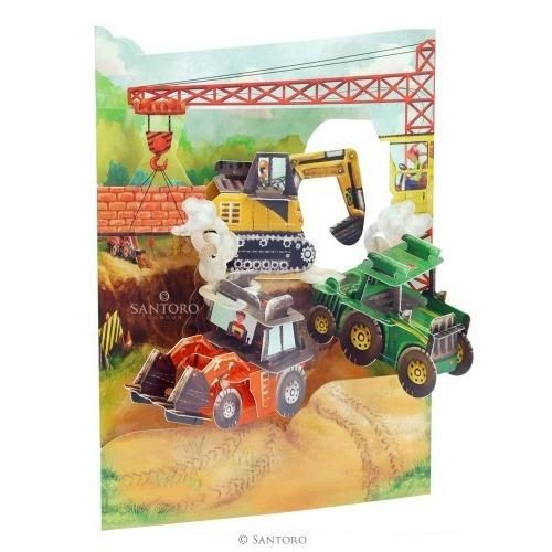 Swing Card Tractors And Diggers
