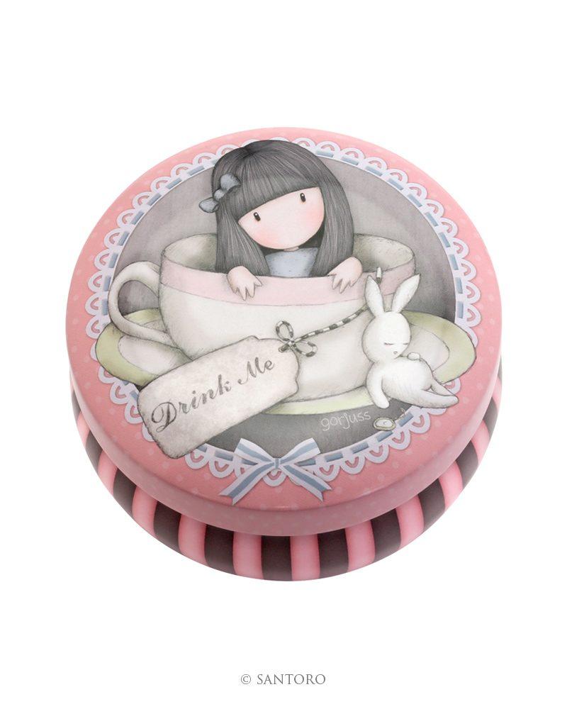 Gorjuss Trinket Tin-Sweet Tea