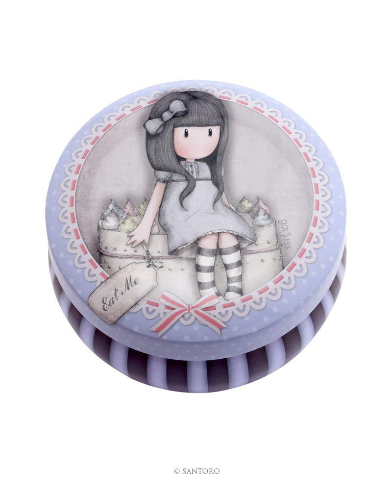 Gorjuss Trinket Tin – Sweet Cake
