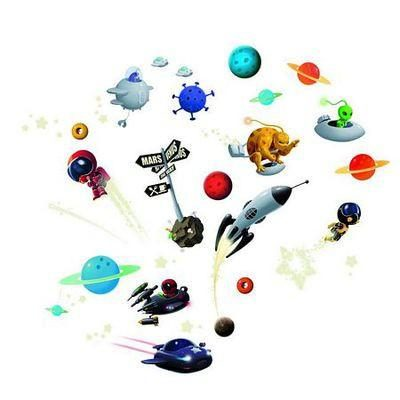 Astronauts – Room Stickers