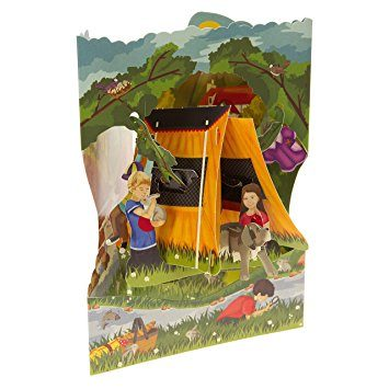 Swing Card Camping