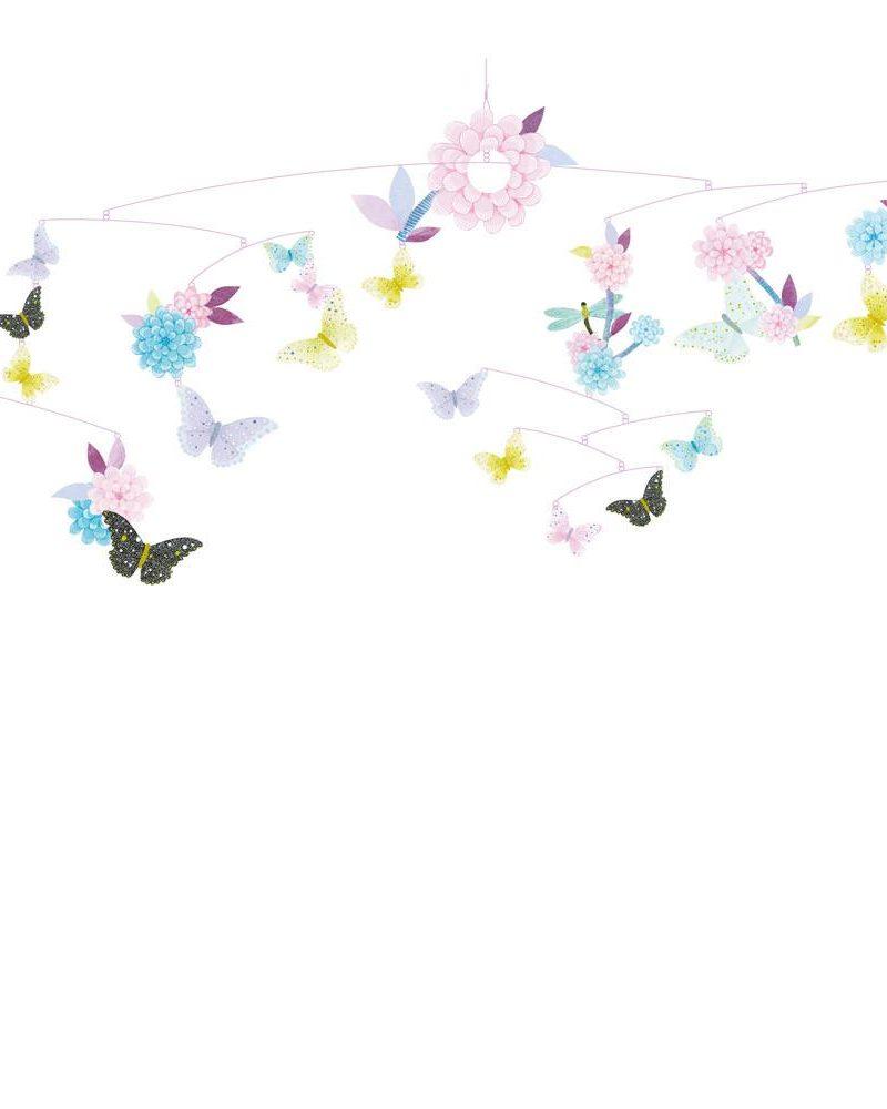 Butterfly twirl Mobile