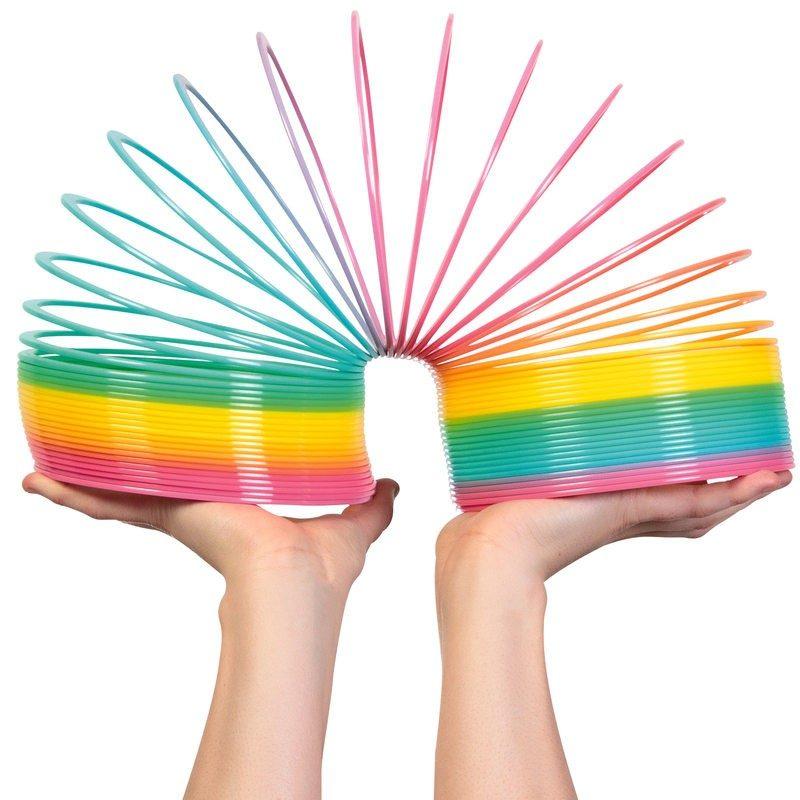 Giant Rainbow Slinky