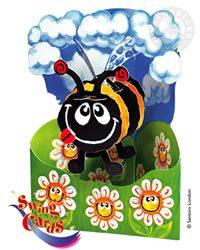 Swing Card Bumble Bee