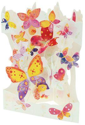 Swing Card Butterfly Cloud