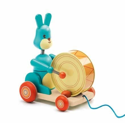 Bunny Boum Pull Along