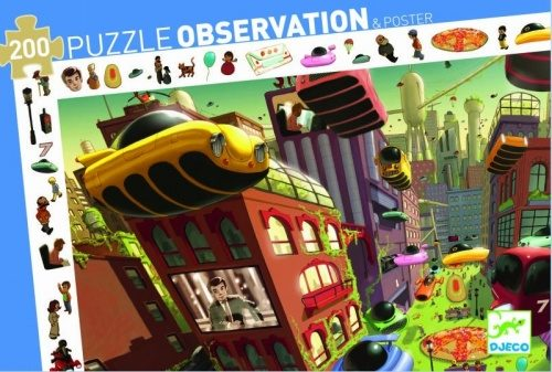 Observation puzzle – City of future