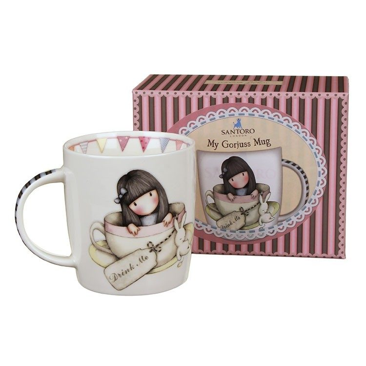 Gorjuss Small Mug – Sweet Tea – Brand New and Boxed Santoro