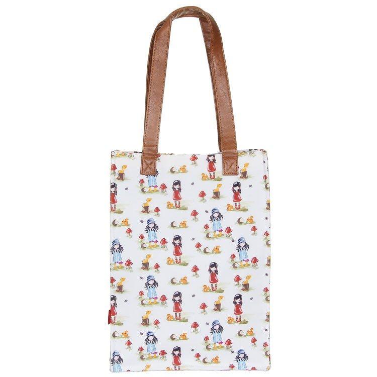 Gorjuss – Coated Shopper Bag – Toadstools