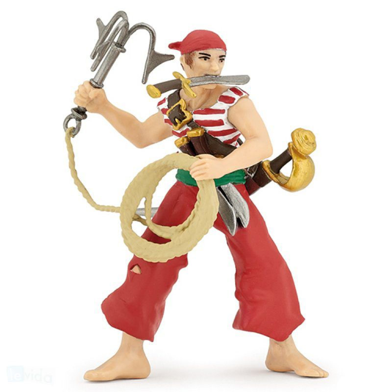 Papo Pirate With Grapnel