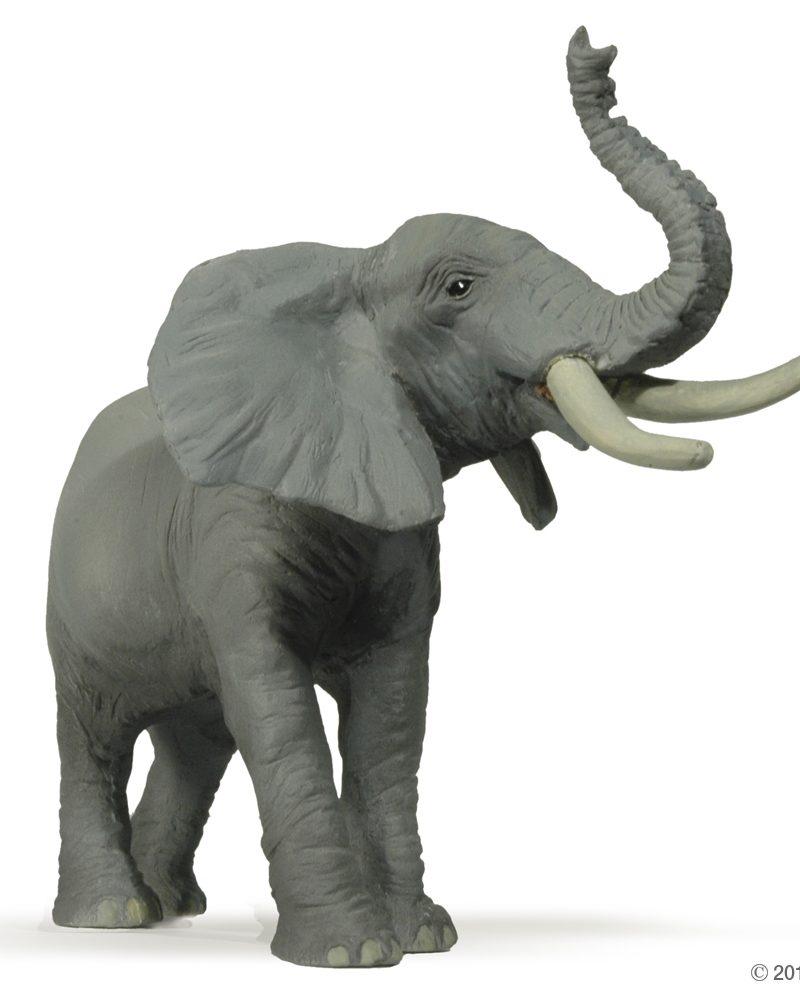 Papo Elephant – Trumpeting