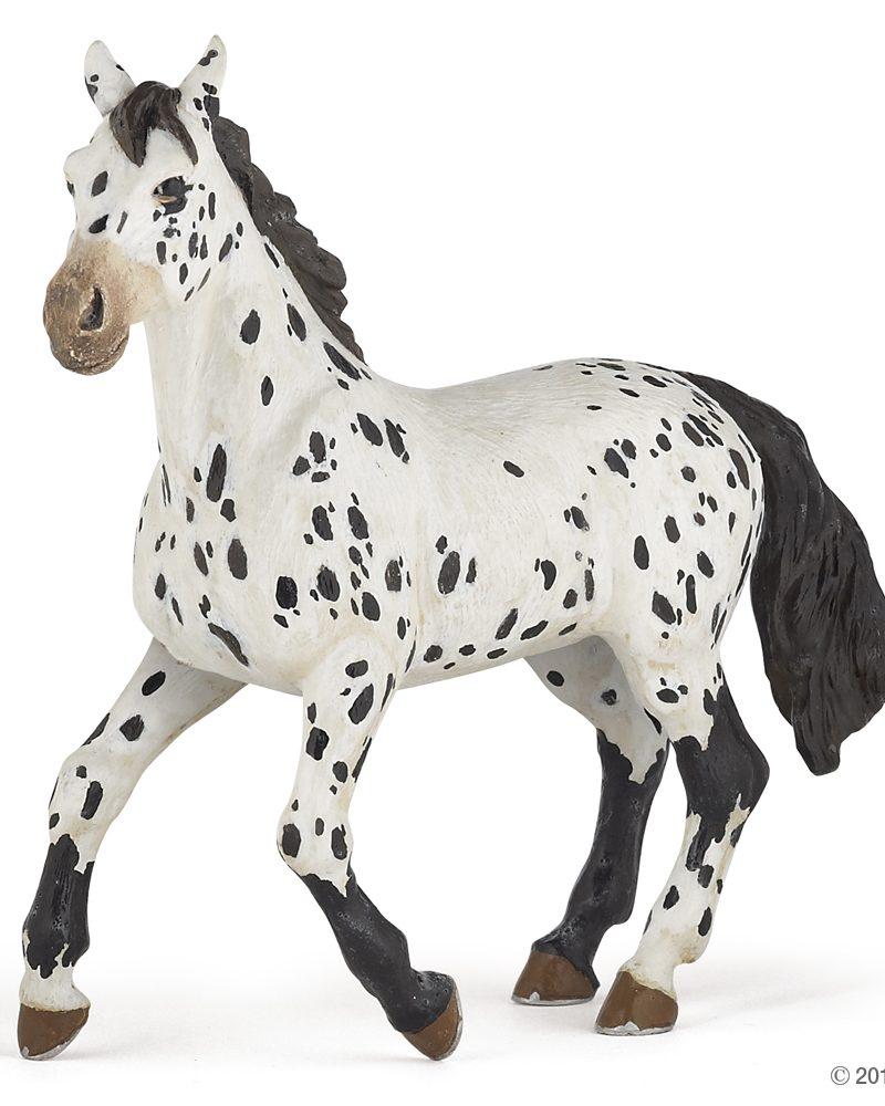 Papo Black Appaloosa Horse