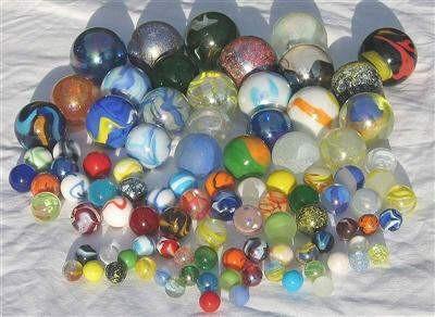 Marbles Asstd. – Massive 50mm