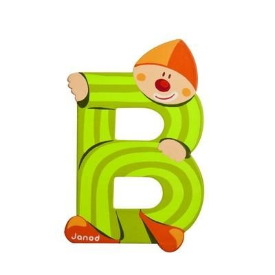 Clown Letter B