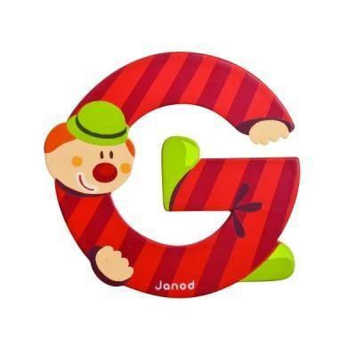 Clown Letter G
