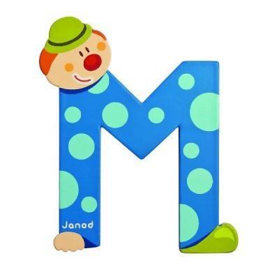 Clown Letter M