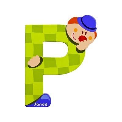 Clown Letter P