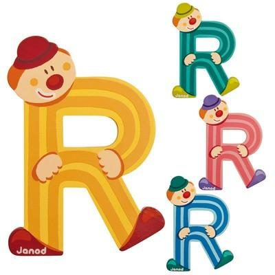 Clown Letter R