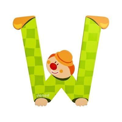 Clown Letter W