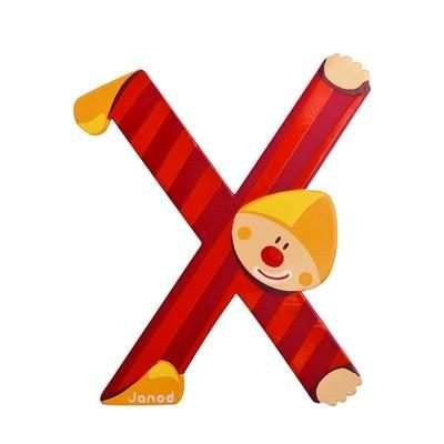 Clown Letter X