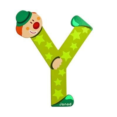 Clown letter Y