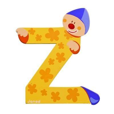 Clown Letter Z