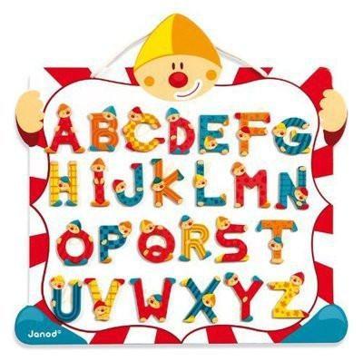 Clown Magnet Letter Board