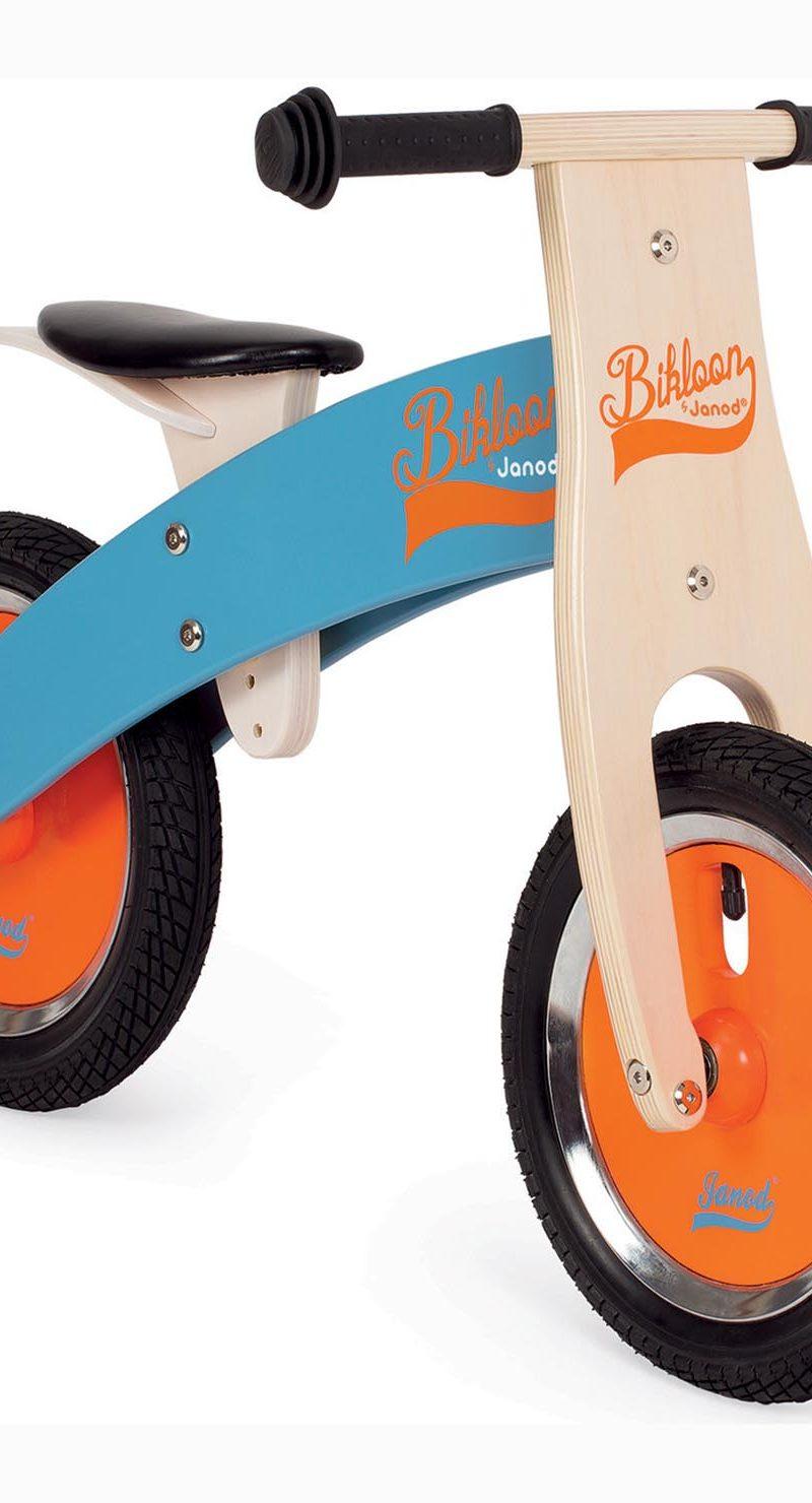 Bikloon Blue and Orange Balance Bike