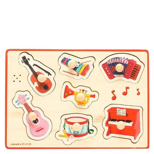 Instruments Musical Puzzle