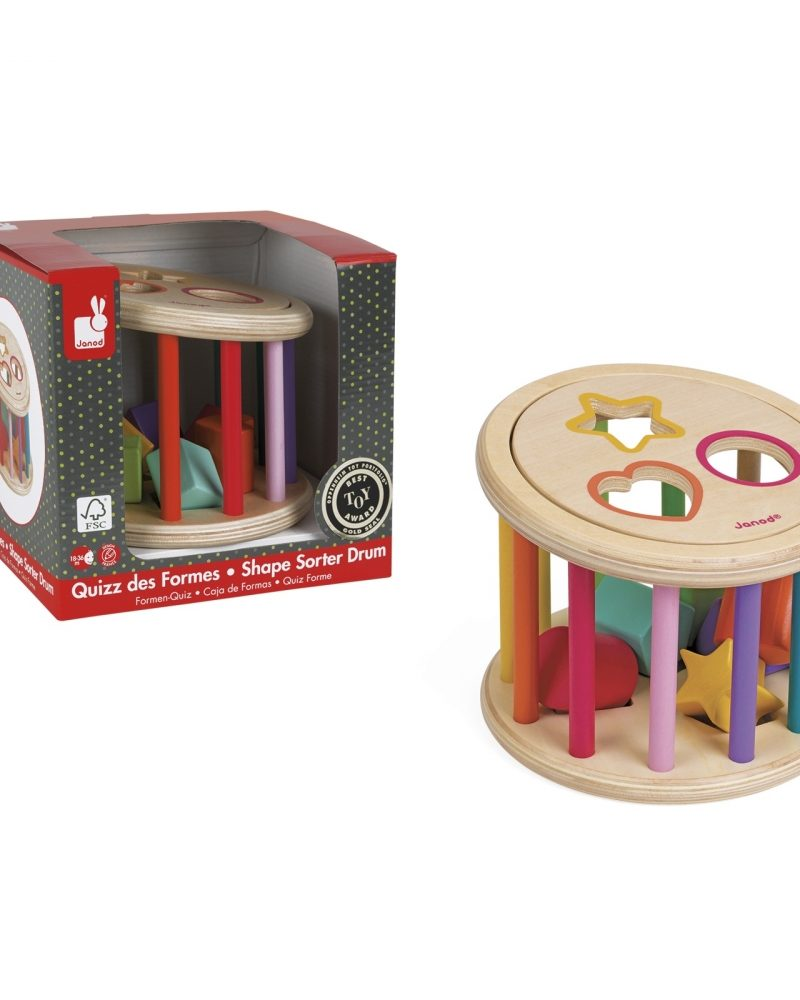 I Wood Shape Sorter