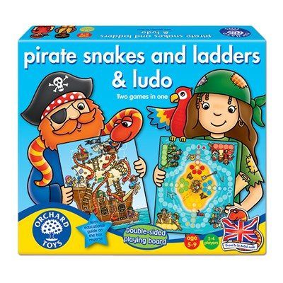 Pirates Snakes & Ladders/ Ludo