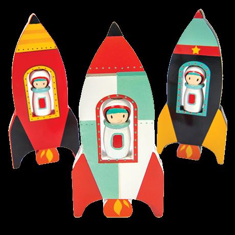 Star Spinner Rocket