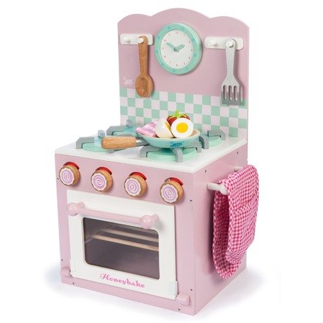Honeybake Oven and Hob Set Pink