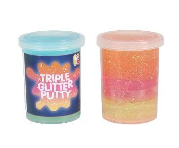 Tripple Glitter Putty
