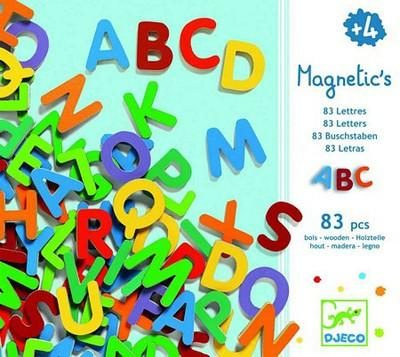 83 Small Magnetic Letters