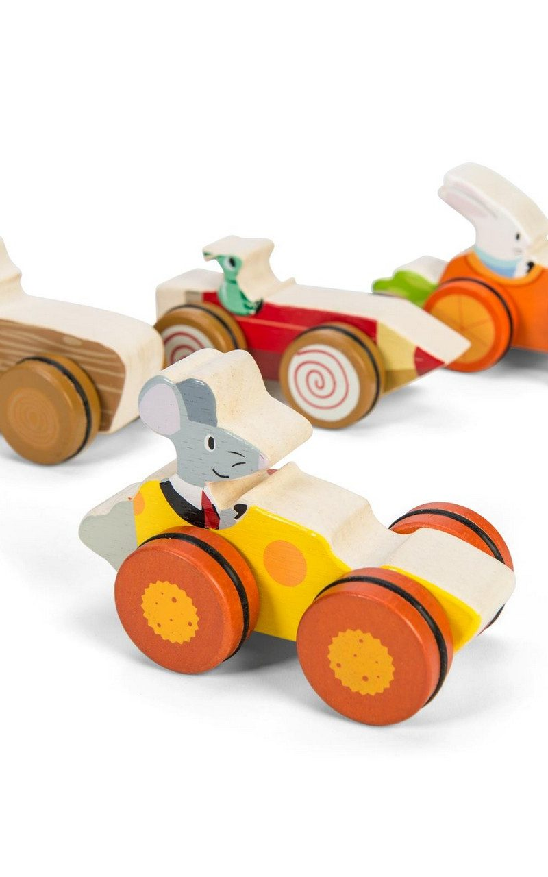 Woodland Racers – Assorted Push Alongs