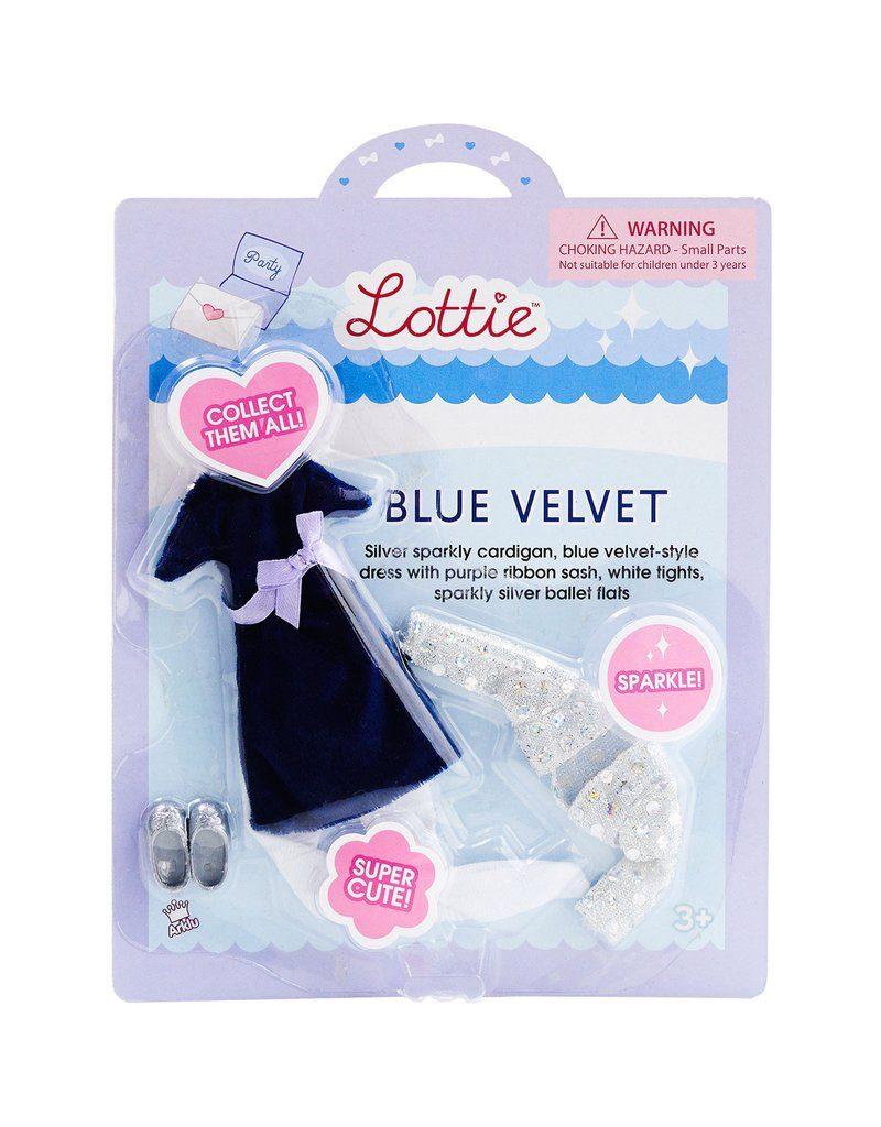 Lottie Doll – Blue Velvet Outfit