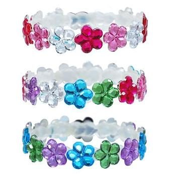 Sparkle Poppy Gem Bracelet