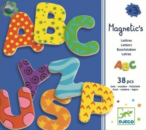 Magnetic – 38 Big Letters