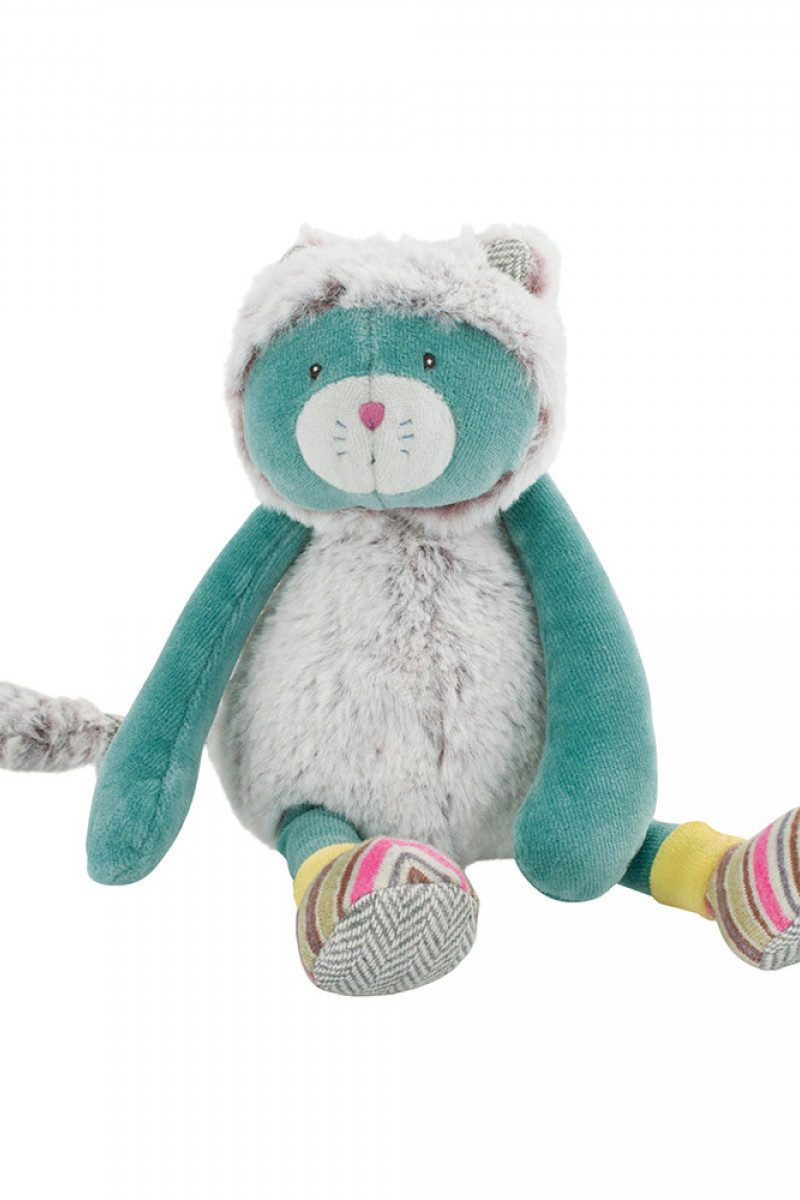 Les Pachats Cat Doll (Turquoise)